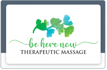 Be Here Now Massage gift cards